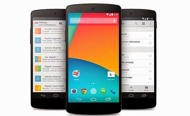 root the google nexus 5 phone
