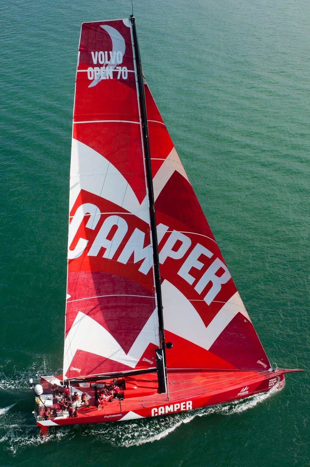 new Camper VO70 yacht.