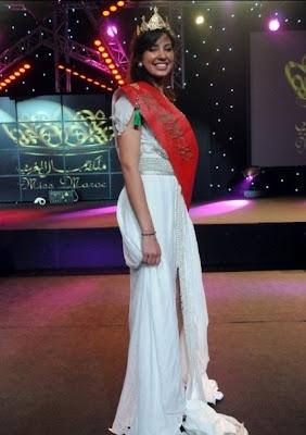 مكياج ملكة جمال المغرب 2012