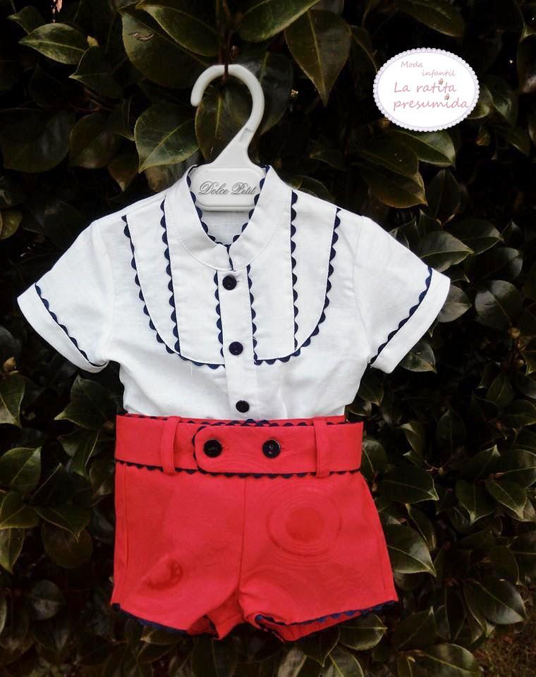 Conjunto Dolce Petit colección primavera -verano 2015