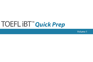 Tofel iBT(TM) Quick Prep Volume I