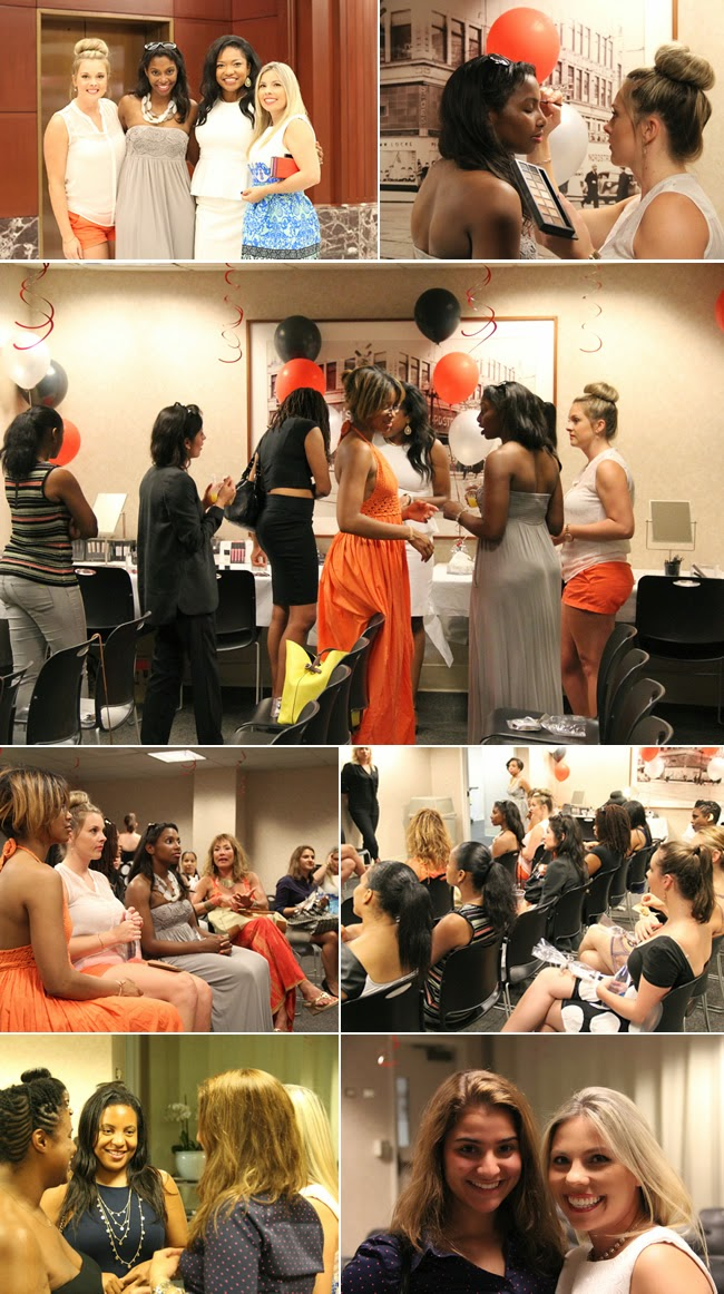our readers having fun at the nordstrom smashbox event