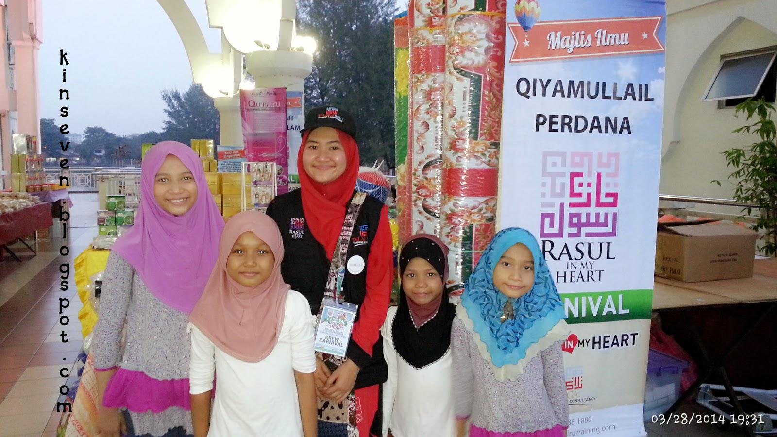 karnival rasul in my heart, masjid As Salam Puchong Perdana