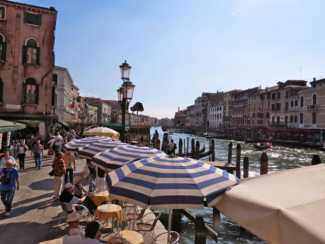 Venice canal side restaurant