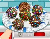 لعبة كيكه كرات الحلوي