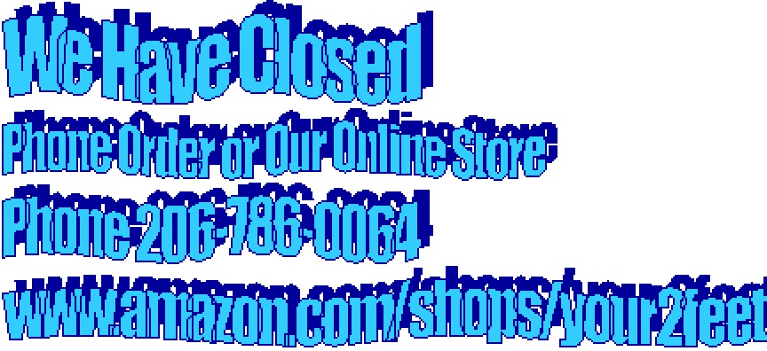 "Phone Orders or Buy Z-CoiL Shoes Online""Your 2 Feet""  www.amazon.com/shops/your2feet"