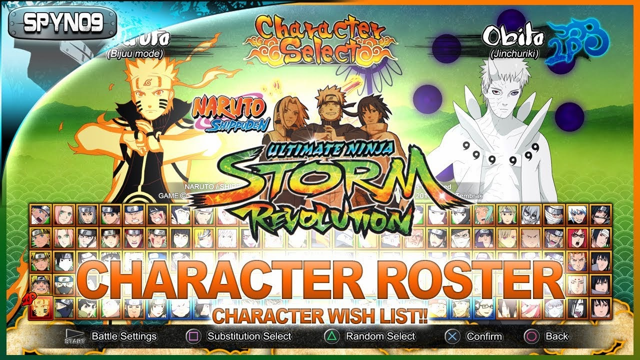 Play Game Naruto Shippuden Ultimate Ninja Storm Revolution