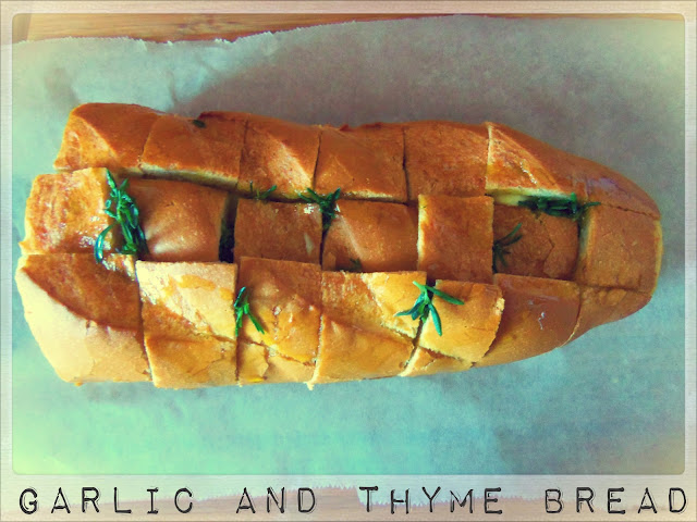 You've Got Meal!: Express Post: Garlic and Thyme Bread