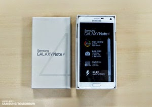 Samsung  Galaxy Note 4 first unboxing video