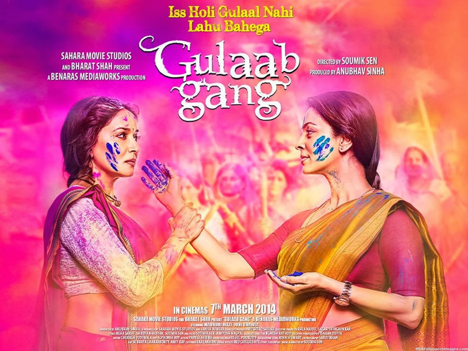 Gulaab Gang (2014) Mp3 Songs Free Download