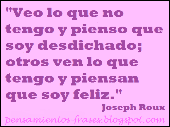frases de Joseph Roux