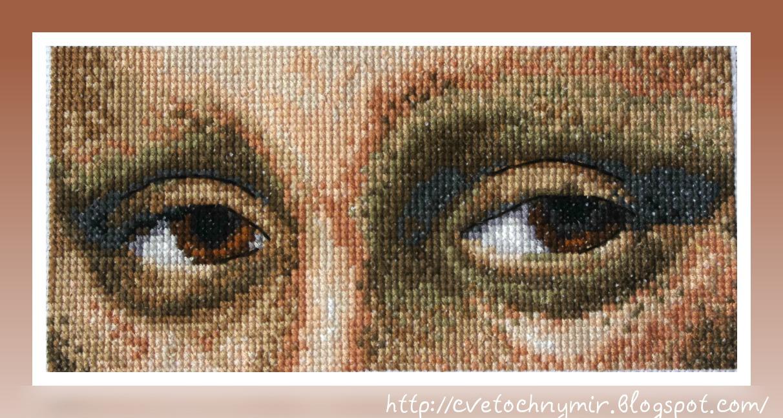 Схемы для вышивки крестом очки