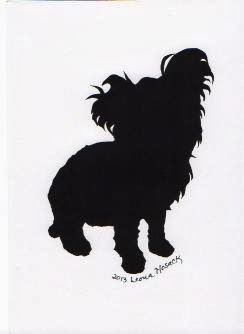 Leona's Silhouettes, Dogs