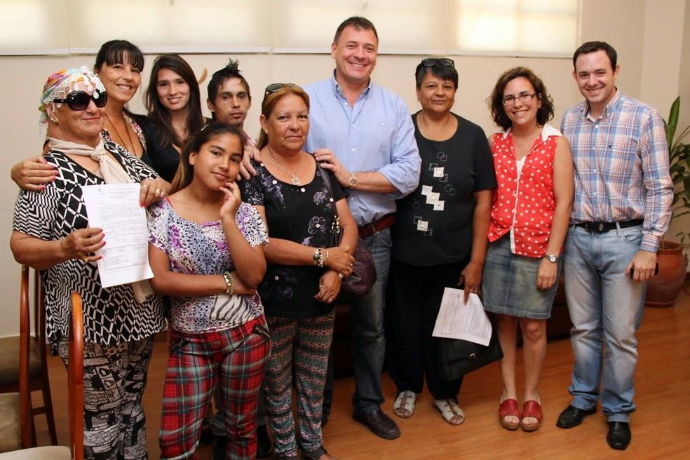 El intendente Raimundo entregó tres pensiones Ley 5110
