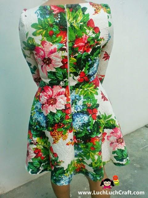 floral dress elegant