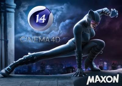 برنامج سينما فور دي CINEMA 4D احترافي في تصميم 4D و 3D