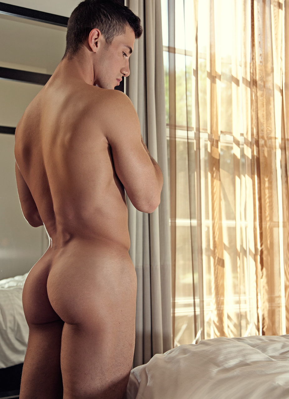 male model nude butt