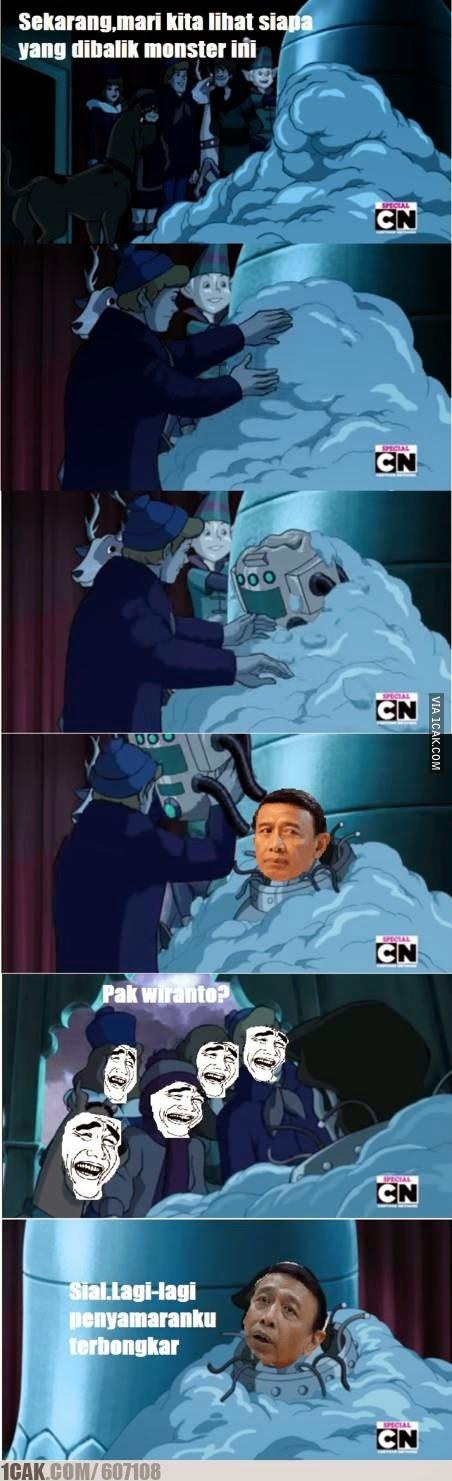 Meme Lucu Wiranto Menyamar 4
