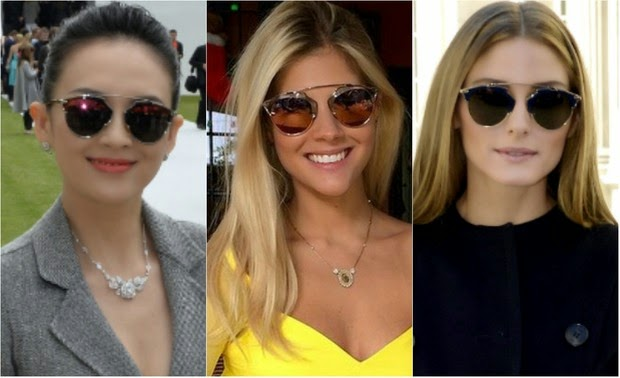 Quando o item em questão é um óculos de sol, pior ainda: só dá ele nas selfies postadas no Instagram