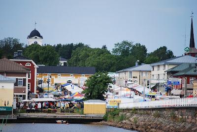 Marknad i Kristinestad - Markkinat Kristiinankaupungissa