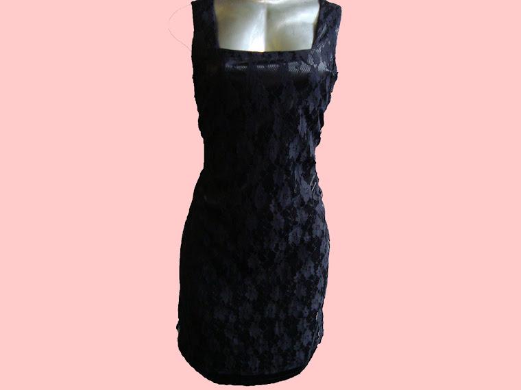 vestido de renda de festa