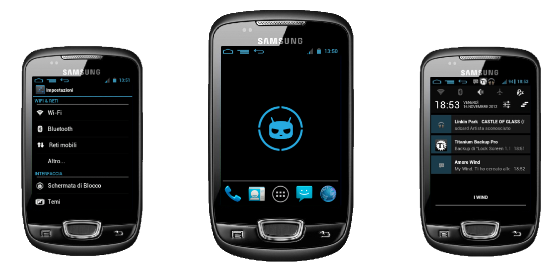 Custom Rom Samsung Galaxy Mini S5570