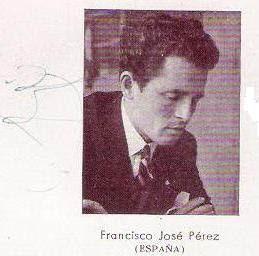 Foto y firma de Francisco José Pérez