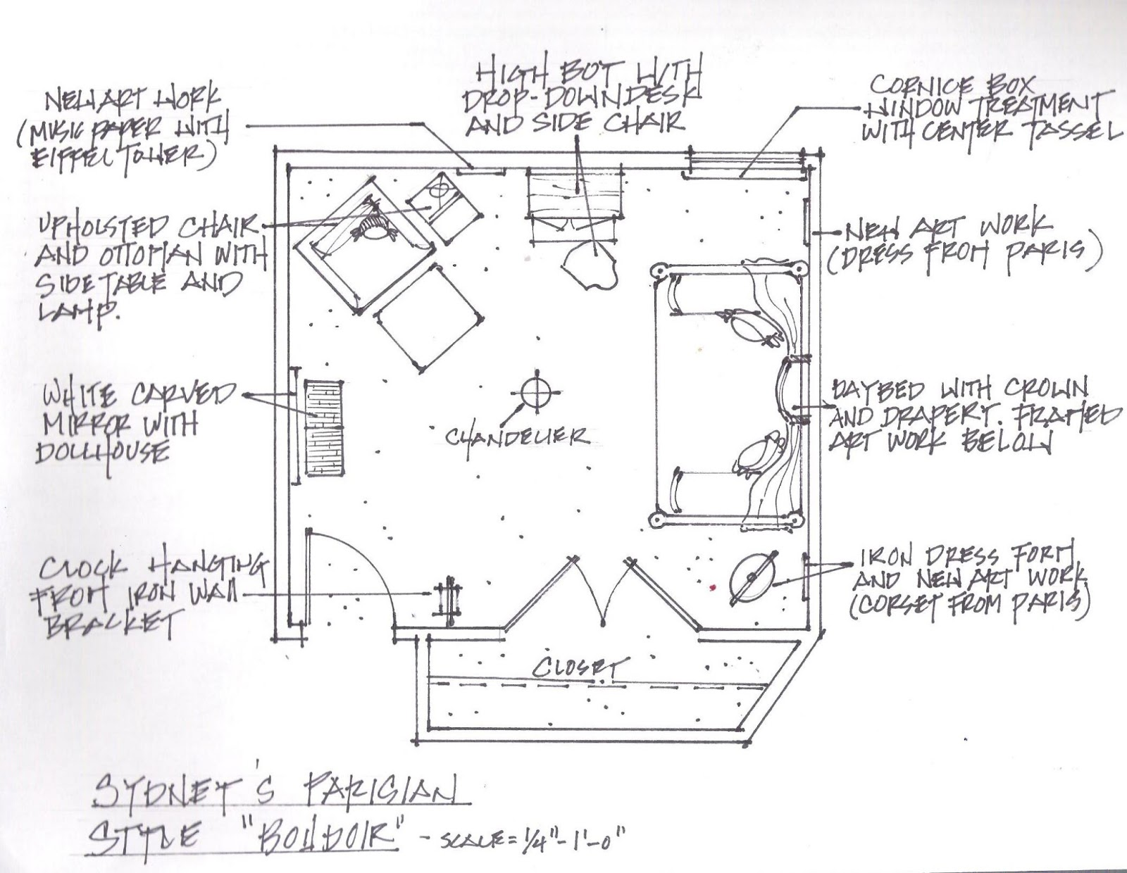 Digs are hand rendered interior drawings a dying art for How to draw architectural plans by hand