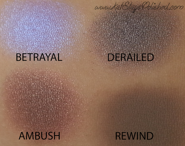 Urban Decay - Vice 2 Palette - BETRAYAL-DERAILED-AMBUSH-REWIND