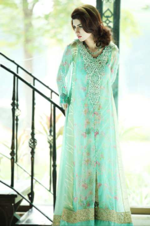 summer eid collection by farida hasan 9 - Dress Of The Day 21st Nov 2011