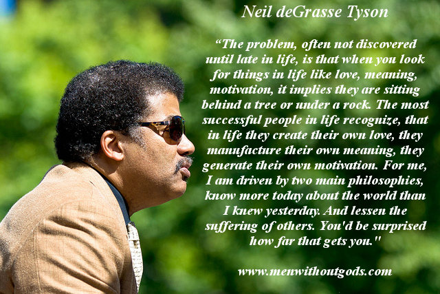 Neil degrasse tyson quotes two main philosophies