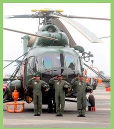 Entrega oficial de los primeros 8 Mi-171Sh-P a la Brigada de Aviación del Ejército del Perú