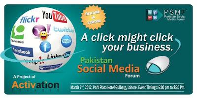 A Click Might Click Your Business ! Pakistan Social Media Forum (PSMF), Social Media Event in Lahore- Pakistan, Social Media Training in Lahore- Pakistan, Events in Lahore, Training in Lahore, Corporate Event on Social Media, Events Pakistan