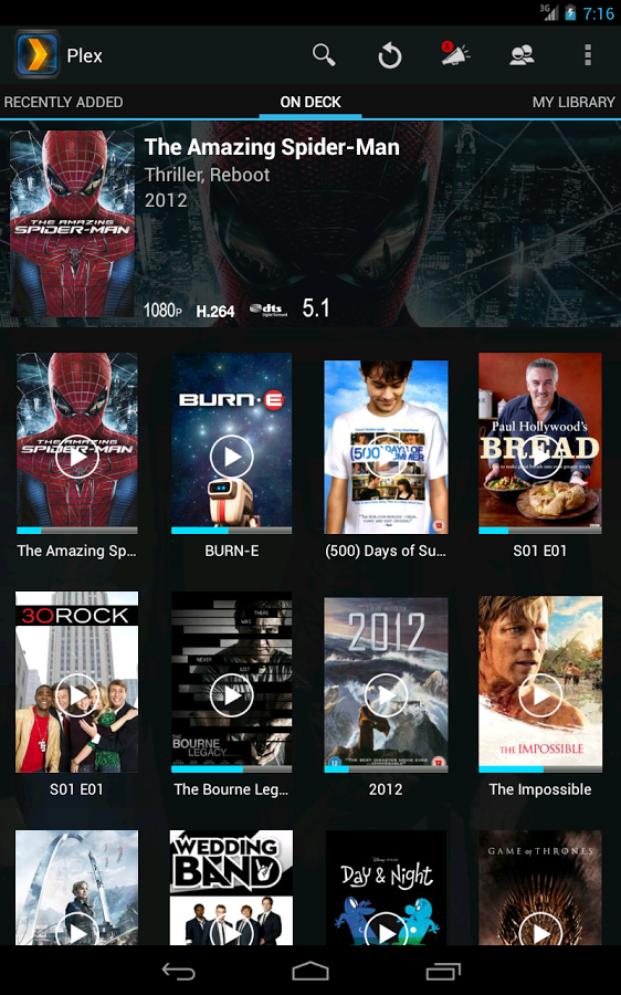 Plex For Android Phone Tablet Tv Shows New Kodi