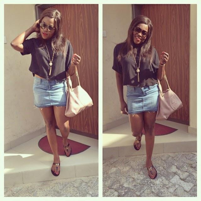 Actress Funke Akindele's Casual Look