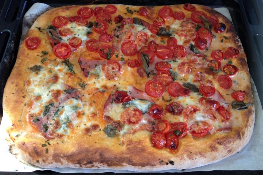 Les astuces de f e paillette comment faire une pizza maison recette facile p te pizza et - Pizza maison idee ...