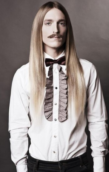 Trendy Long Hair Styles for Men 2015