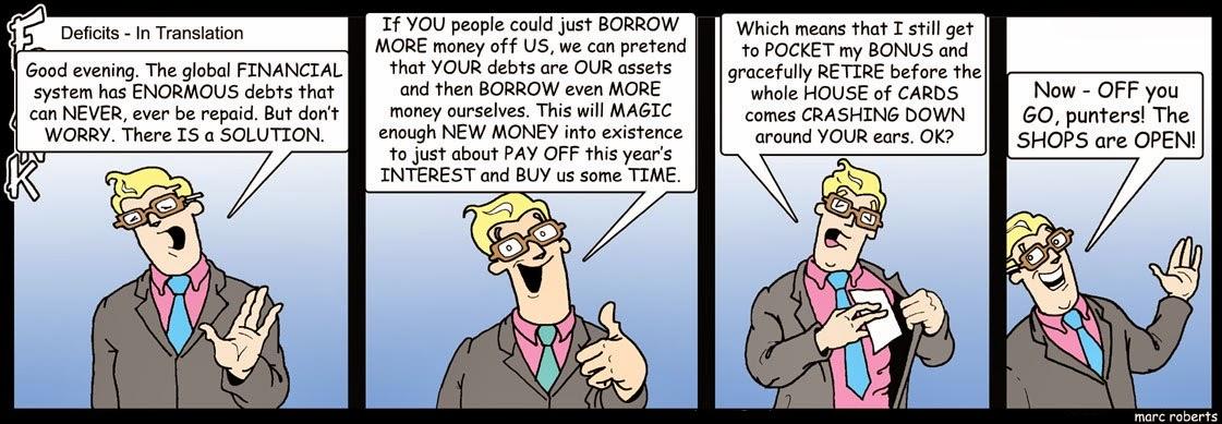Marc Roberts: Cantankerous Frank - Deficits.