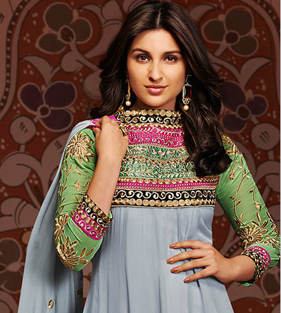 Parineeti Chopra Georgette Anarkali Wallpaper (2880x1800  - parineeti chopra georgette anarkali wallpapers