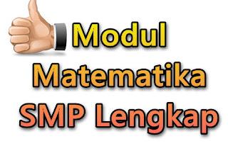 Modul Matematika SMP Lengkap