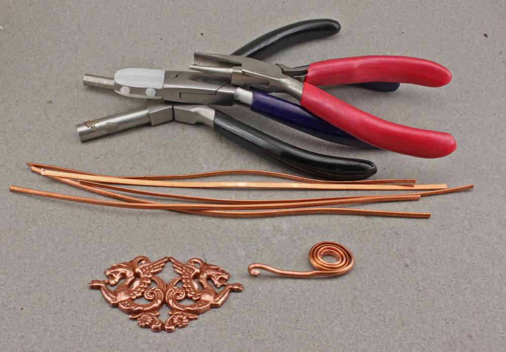 OscarCrow Handmade Jewelry: Copper wire wrapped bracelet demo and ...