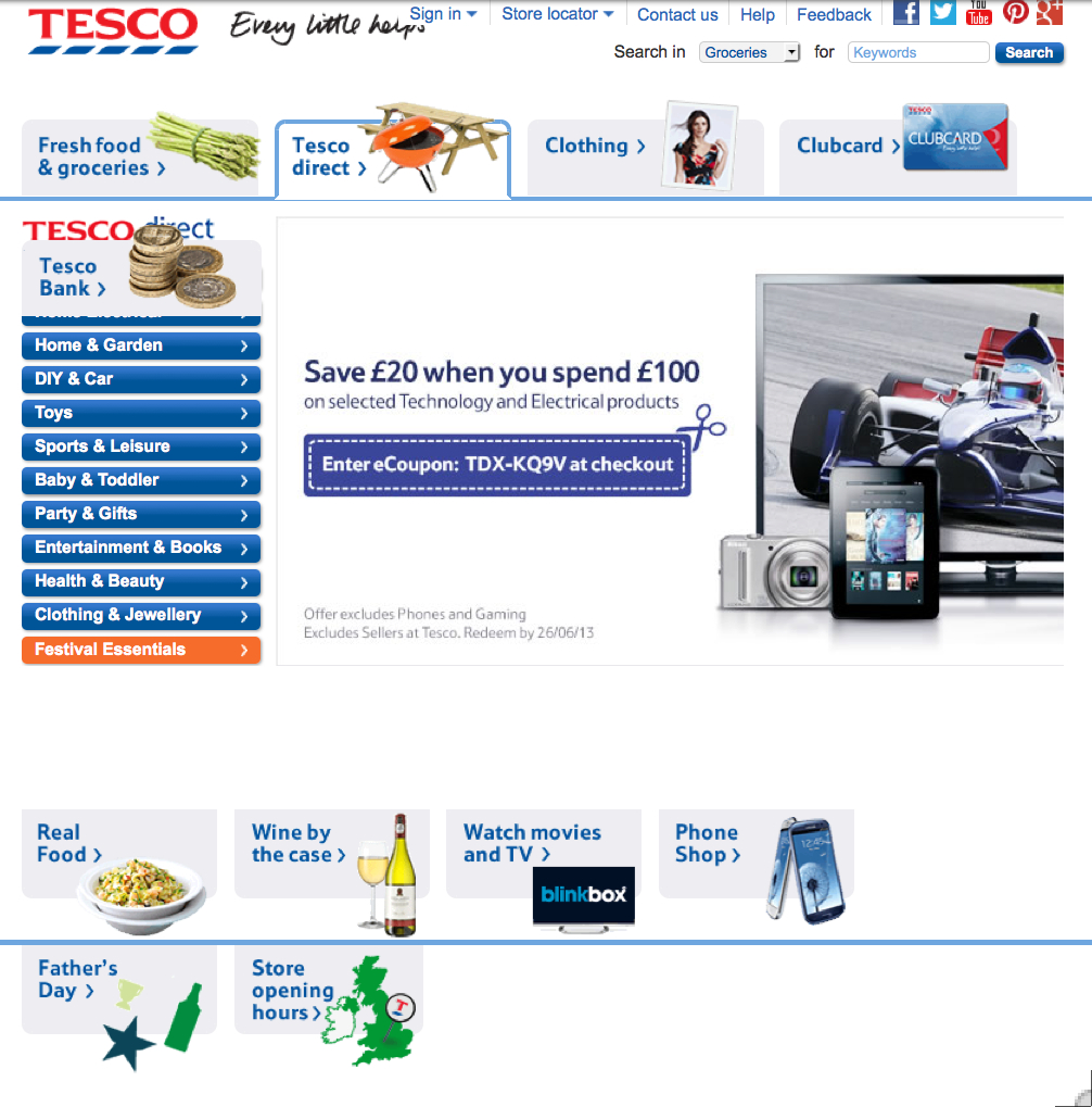 concept of marketing tesco Marketing plan of tesco plc by kasi  staff: well-skilled staff will be hired, who have diverse knowledge of marketing concepts for the marketing plan.