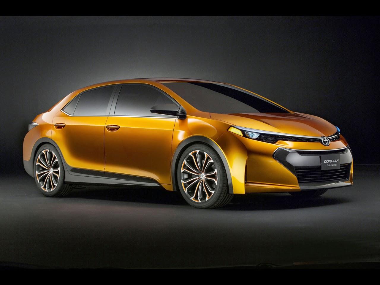 Amazing Toyota Corolla Furia Concept Car