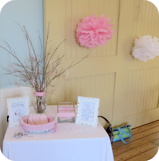Baby Shower Wishing Tree