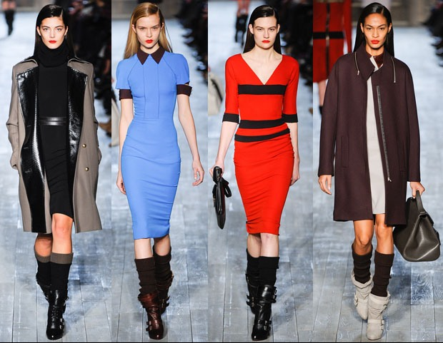 VICTORIA BECKHAM FALL 2012