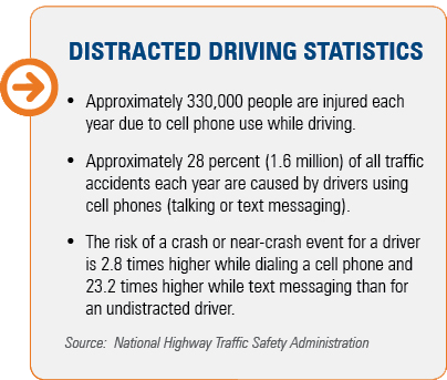 distracted, driving, cell phone, accident, text messaging