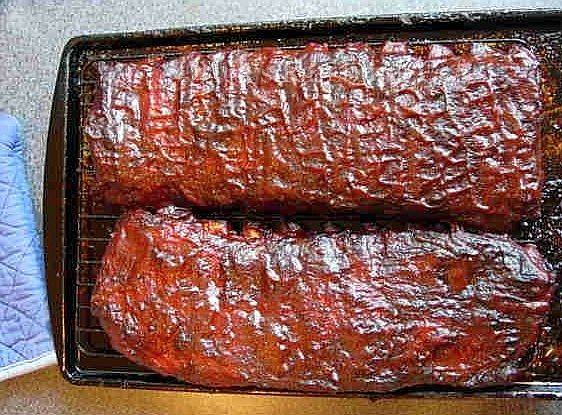 Kansas City Sweet-and-Smoky Ribs Recipe — Dishmaps