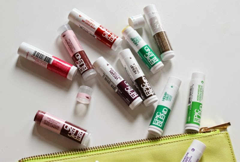 Epic Blends Lip Balms