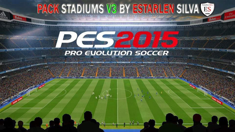 PES 2015 Stadium Pack V3 by Esterlsan Silva