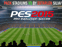 PES 2015 Stadium Pack V3 by Esterlan Silva